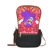 Load image into Gallery viewer, BeWitchy™ day of the dead bag Saddle Bag/Small