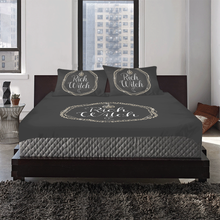 Load image into Gallery viewer, rich witch bedding set 3-Piece Bedding Set