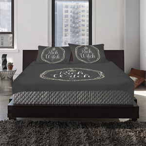 rich witch bedding set 3-Piece Bedding Set