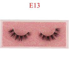 Load image into Gallery viewer, Mink Eyelashes 100% Cruelty free Handmade 3D Mink Lashes