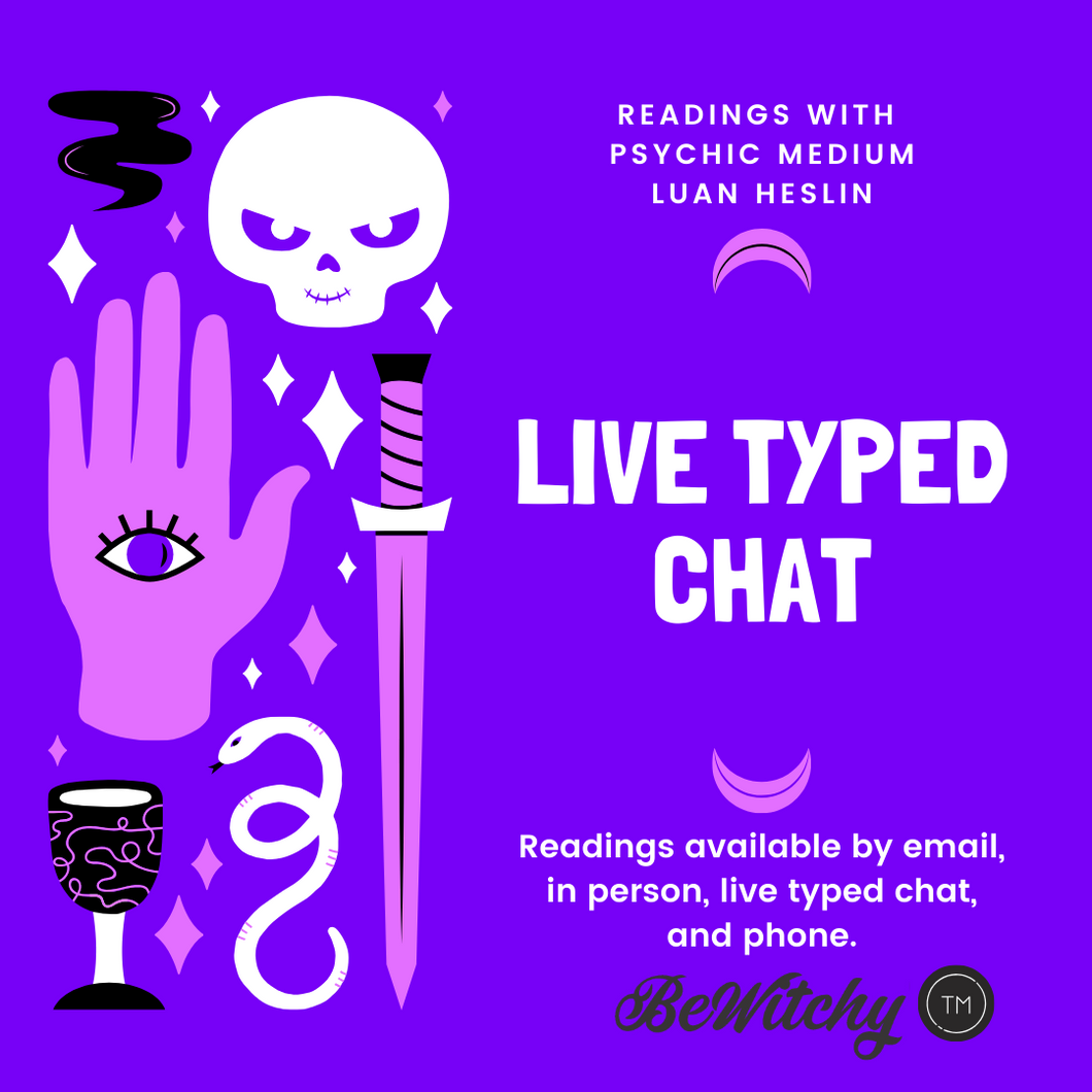 URGENT 30min LIVE CHAT or PHONE READING