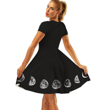 Load image into Gallery viewer, Moon Phase Dress