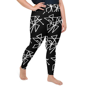 BeWitchy™  Sigil (send curses back)  All-Over Print Plus Size Leggings