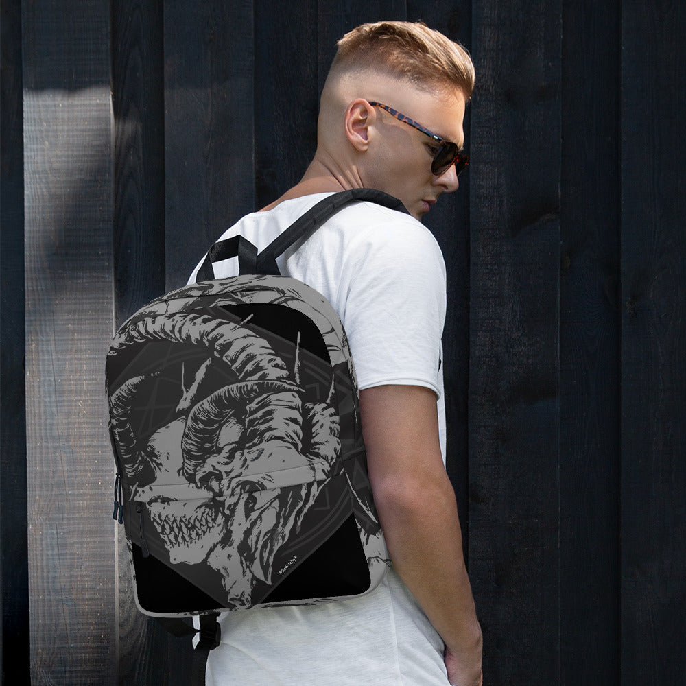 The BeWitchy Skull Merge Backpack