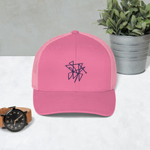 "Load image into Gallery viewer, BeWitchy™ Sigil ""send curses back"" Trucker Cap"