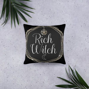 BeWitchy™ Rich Witch Basic Pillow