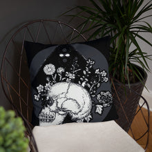 Load image into Gallery viewer, BeWitchy™  Skull Infinity Basic Pillow