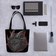 Load image into Gallery viewer, BeWitchy Goat Tote bag