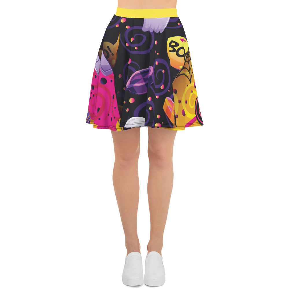 BeWitchy Halloween Special Skater Skirt