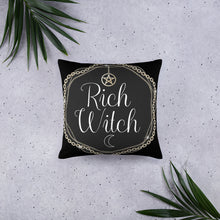 Load image into Gallery viewer, BeWitchy™ Rich Witch Basic Pillow