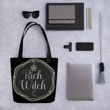 Load image into Gallery viewer, BeWitchy™ Rich Witch Tote bag