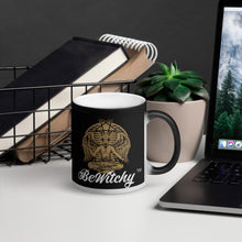 Load image into Gallery viewer, The BeWitchy Baphomet Matte Black Magic Mug