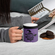 Load image into Gallery viewer, BeWitchy™ Witches Brew Matte Black Magic Mug Matte Black Magic Mug
