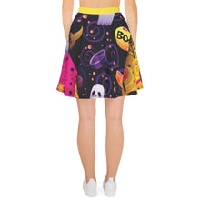 Load image into Gallery viewer, BeWitchy Halloween Special Skater Skirt