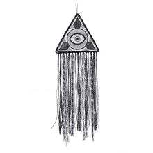 Load image into Gallery viewer, Gothic Evil Eye Black Dream Catcher