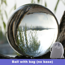 Load image into Gallery viewer, Crystal Lens Ball 60mm 70mm 80mm Divination Sphere With Stand Base Bag