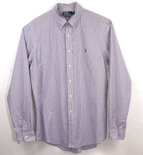 Load image into Gallery viewer, Ralph Lauren Lilac Check Shirt - XL