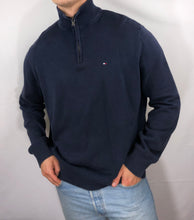 Load image into Gallery viewer, Vintage Tommy Hilfiger Quarter Zip - M