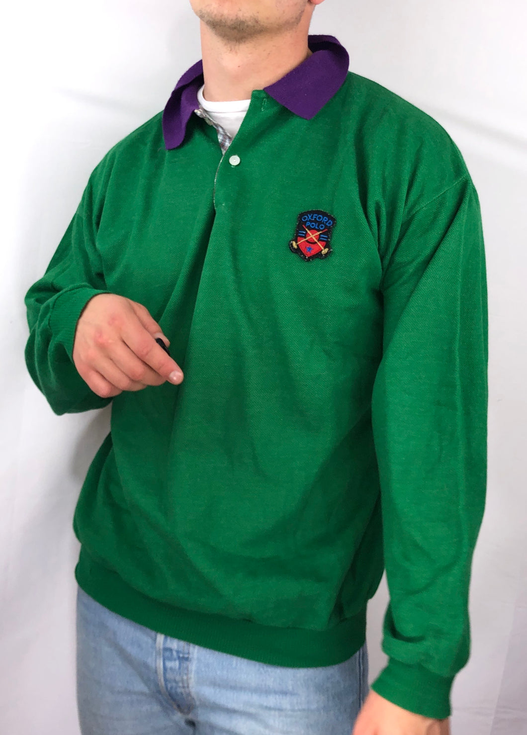 Oxford Polo LS - L