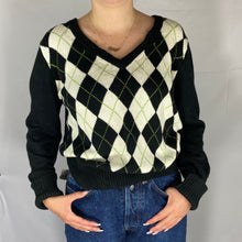 Load image into Gallery viewer, Tommy Hilfiger Pattern Cardigan - M