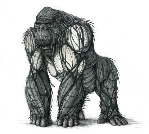 King Kong concept design side view