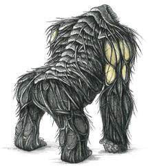 King Kong concept design back view