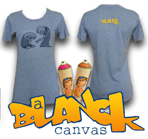 A Blanck Canvas T-shirts- Womens