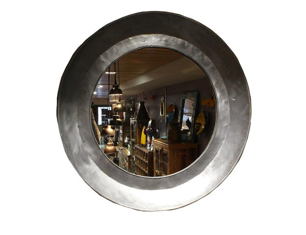 Large Round Chapatti Pan Mirror - HomeStreetHome.ie