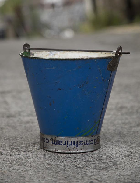 Recycled Iron Bucket - HomeStreetHome.ie
