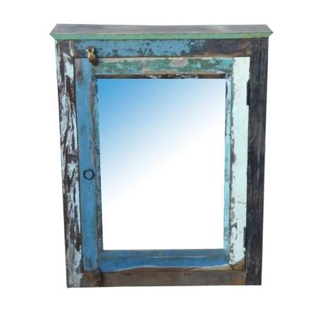 Ocean Wall Hanging Cupboard and Mirror - HomeStreetHome.ie