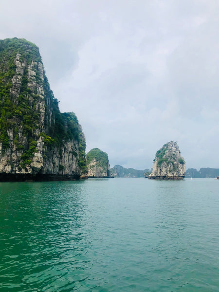 rock formations in ha long bay