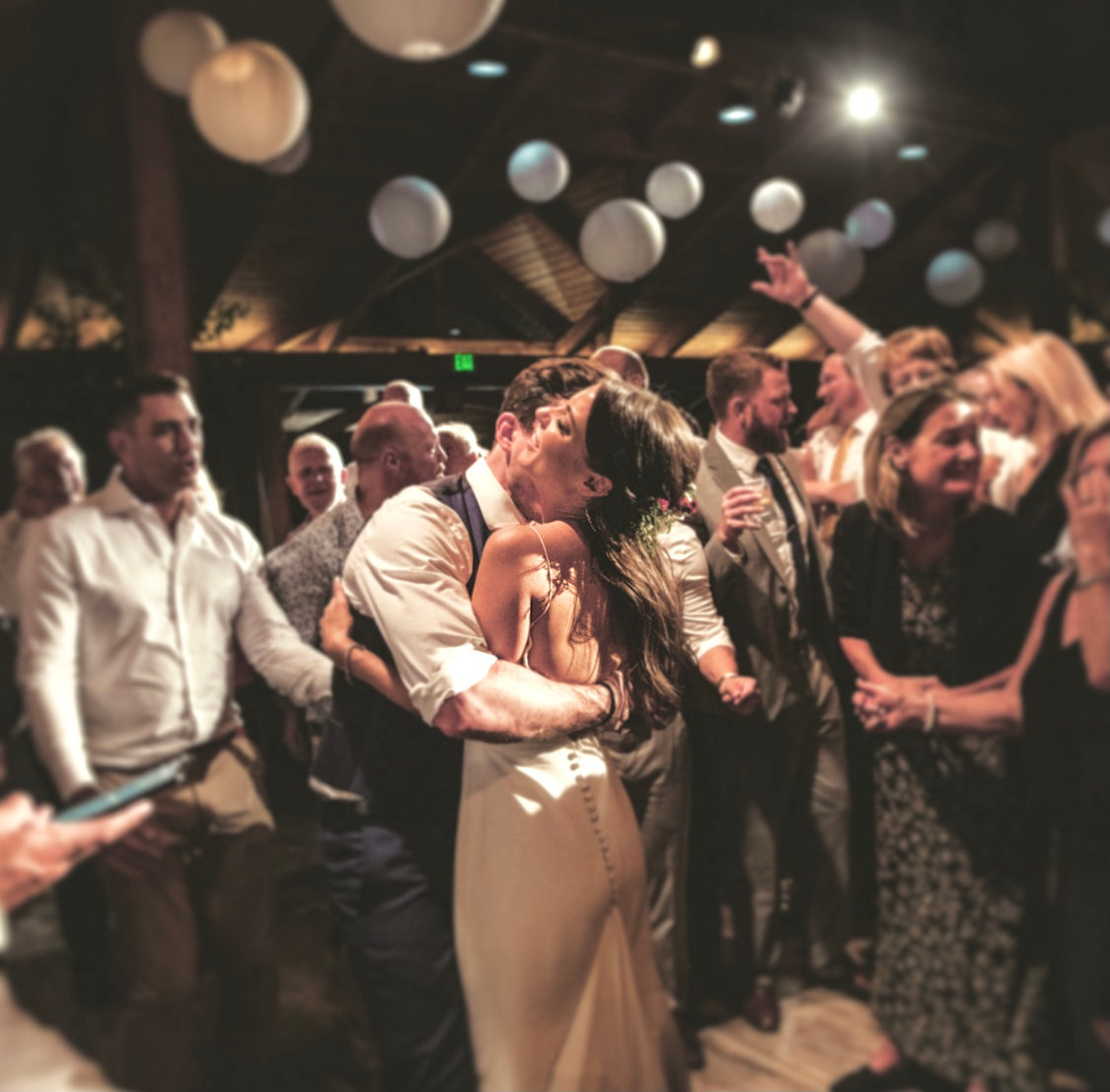 wedding love on the dance floor