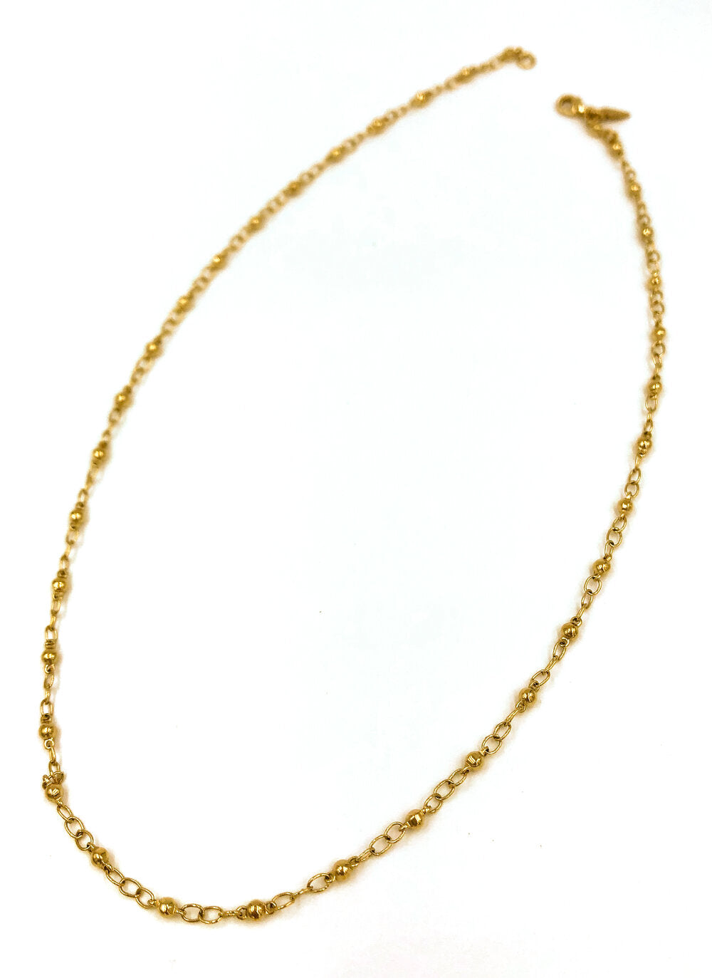 Dotted Chain Necklace