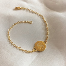 Load image into Gallery viewer, Old English Initial Bracelet