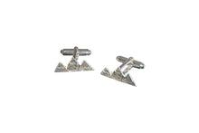 Load image into Gallery viewer, Teton Mountain Cufflinks