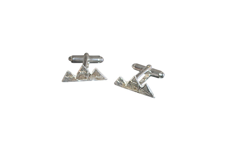 Teton Mountain Cufflinks