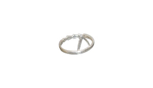 Take Me To The Beach ring - silver