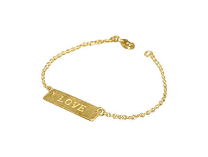 Love Is Blind Bracelet