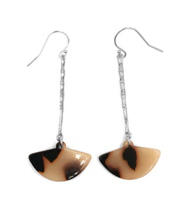 Bamboo Drop Earrings