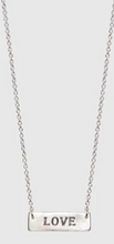 Load image into Gallery viewer, Love Is Blind Braille Necklace