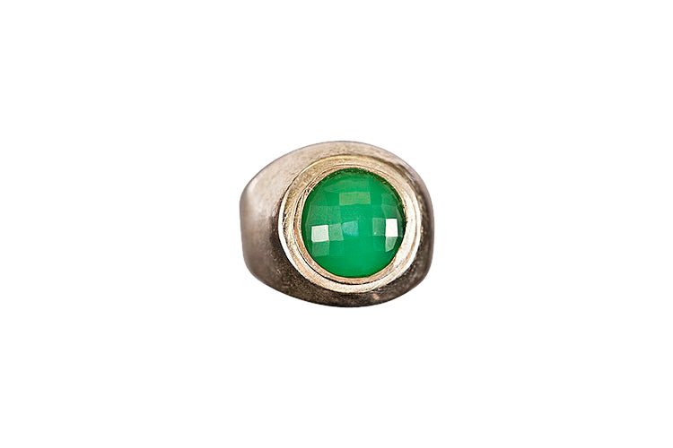 Stone Cold Green Ring