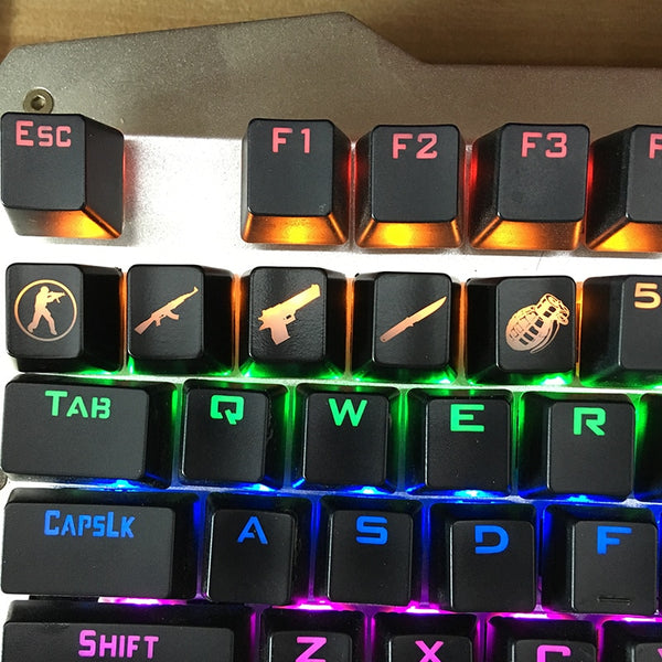CS: GO Gaming Keyboard Keycaps