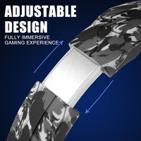 Lightweight Camouflage Wired Gaming Headset with Deep Bass