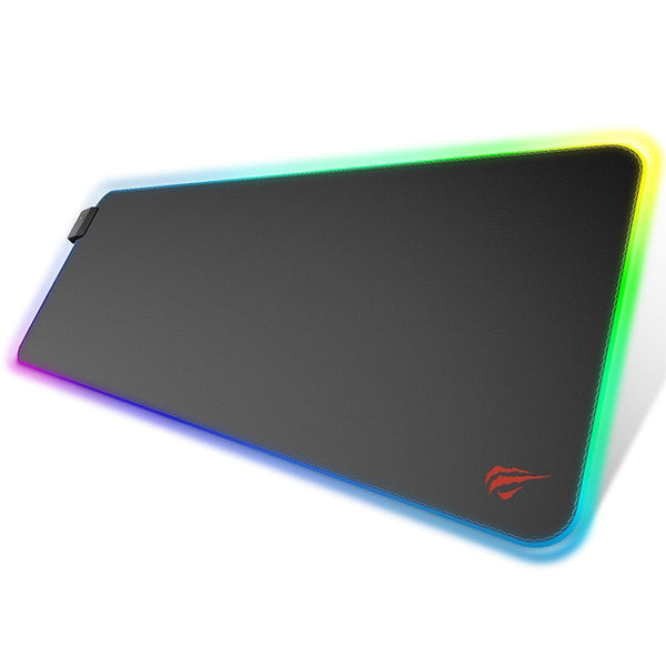 Big Gaming Mouse pad Multicolor LED Edge