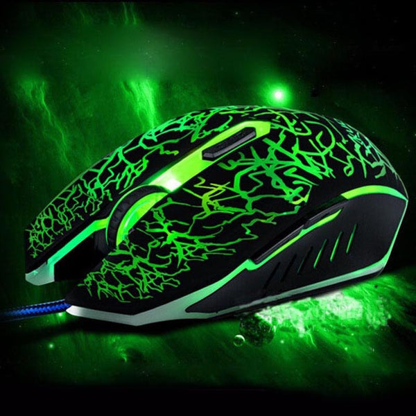 Colorful LED Gaming Mouse 3200 DPI