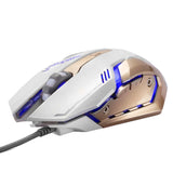 White Gold Mechanical Gaming Mouse