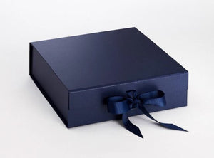 Large Square Magnetic Gift Box with Ribbon - Wholesale (12)