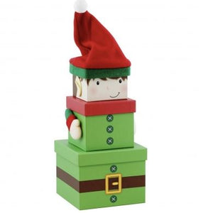 Christmas Stacking Gift Boxes - Multiple styles