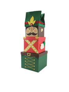 XL Christmas Stacking Gift Boxes - Multiple styles