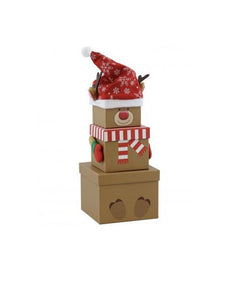 Reindeer Stacking Gift Boxes